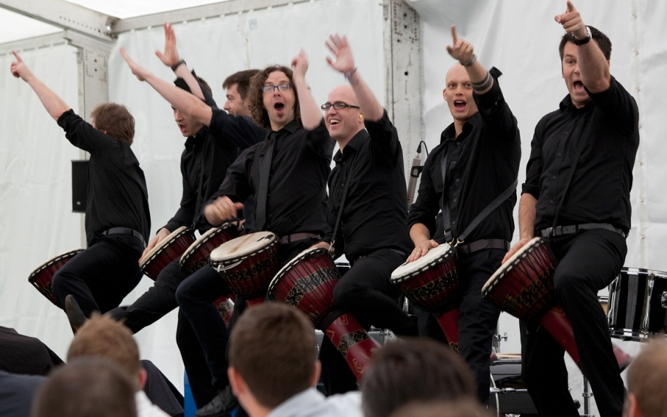 Drum Waiters 4